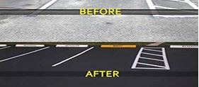 Parking Lot Repair, Sealcoating, and Striping