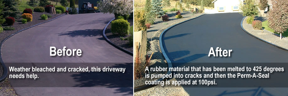 Asphalt Repair & Maintenance, Crackfilling, sealcoating and striping
