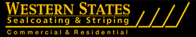 Western States Sealcoating & Striping Logo